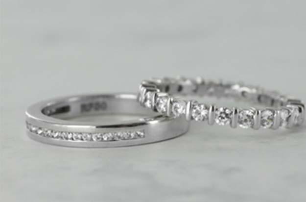 Should I Choose A Full Eternity Or A Half Eternity Diamond Ring?