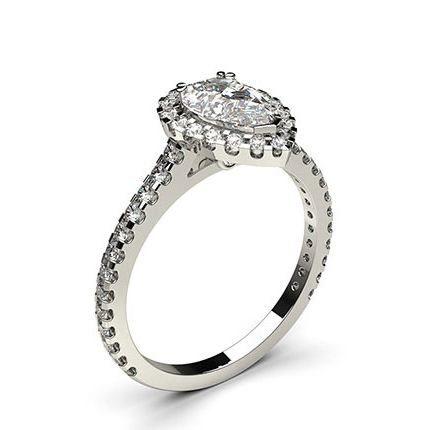 an image of one of our popular diamond engagement rings